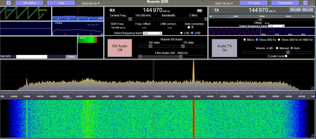 Remote SDR